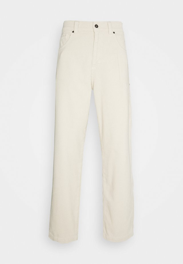 TROUSERS - Kangashousut - whitecap grey