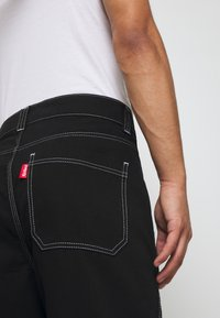 Kickers Classics - CLASSIC CARPENTER TROUSER - Džíny Relaxed Fit - black - 3