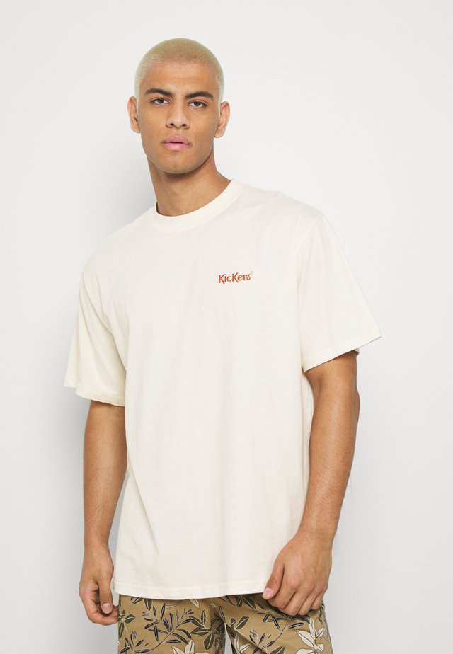 CLASSIC TEE - T-shirt med print - ivory