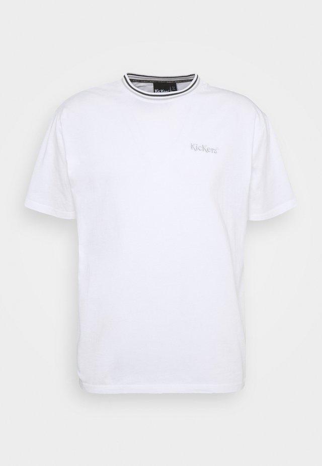 CLASSIC TEE - T-Shirt print - white
