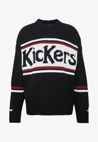 Kickers Classics - CLASSIC  - Svetr - black/ white/ red