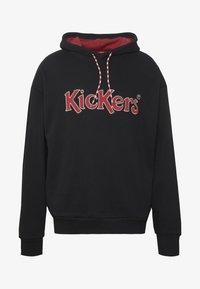 Kickers Classics - HOODIE - Mikina skapucí - black - 4