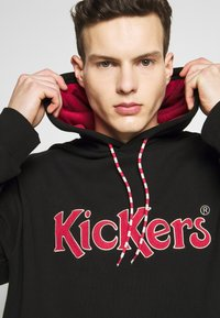 Kickers Classics - HOODIE - Mikina skapucí - black - 5