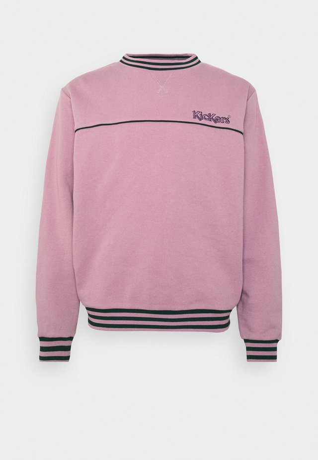 PIPED CREWNECK  - Sweatshirt - pink