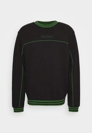 PIPED CREWNECK  - Mikina - black