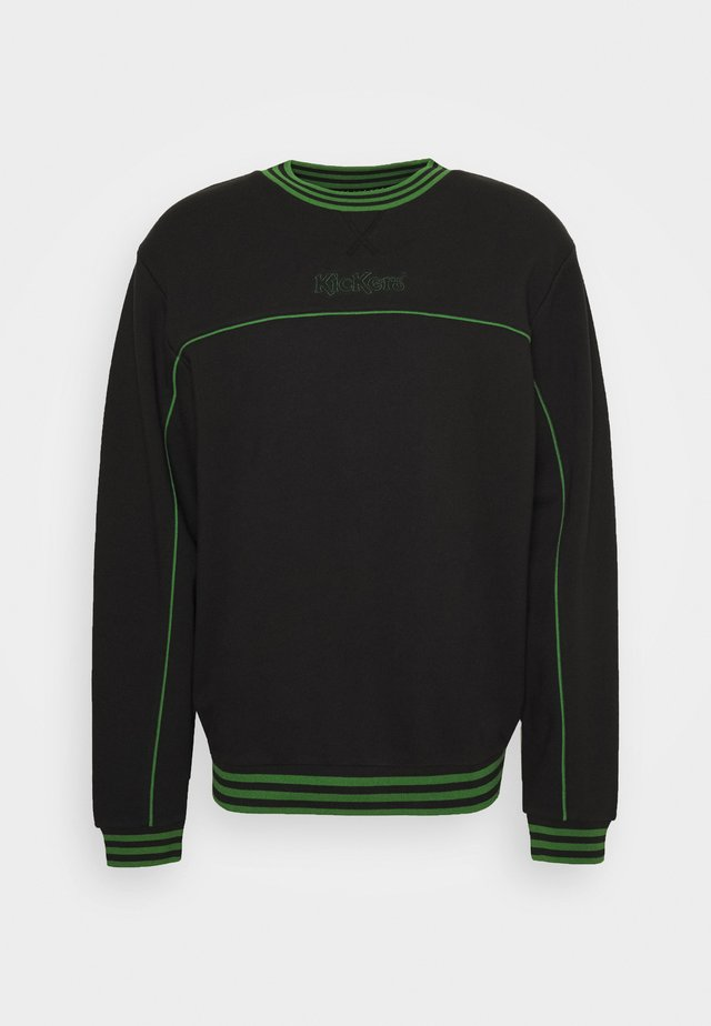PIPED CREWNECK  - Sweatshirt - black
