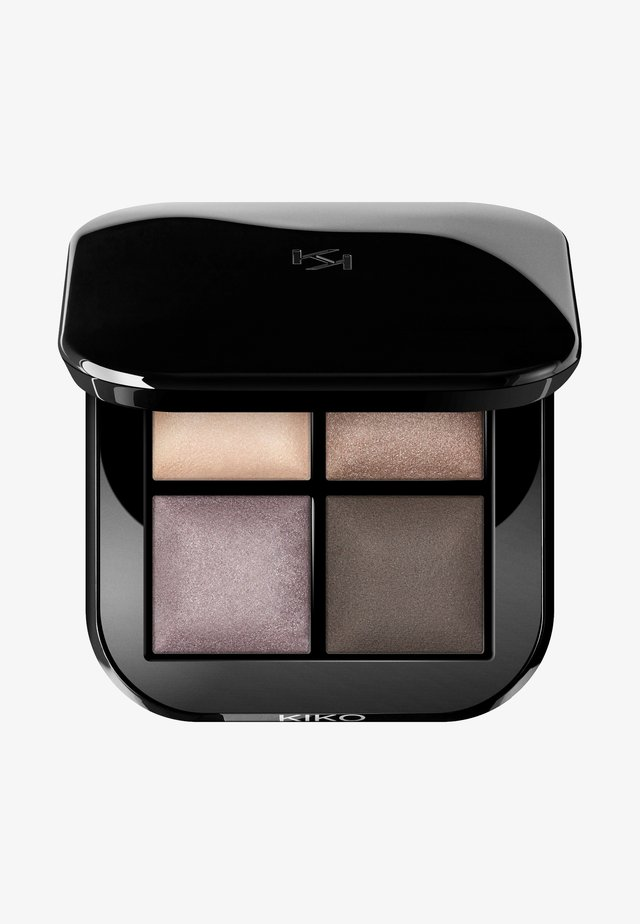 BRIGHT QUARTET BAKED EYESHADOW PALETTE - Lidschattenpalette - 03 cool natural shades