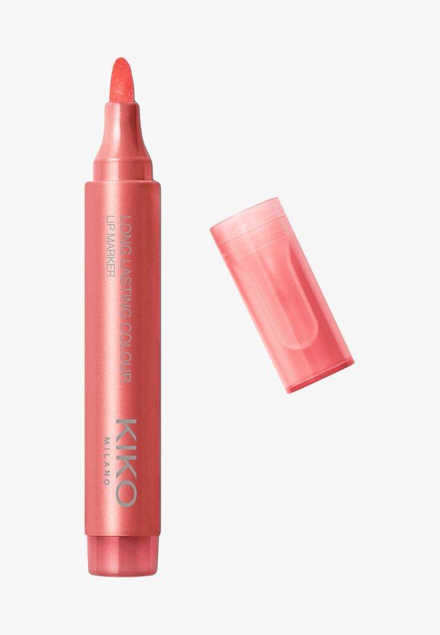 LONG LASTING COLOUR LIP MARKER - Crayon à lèvres - 103 peach red