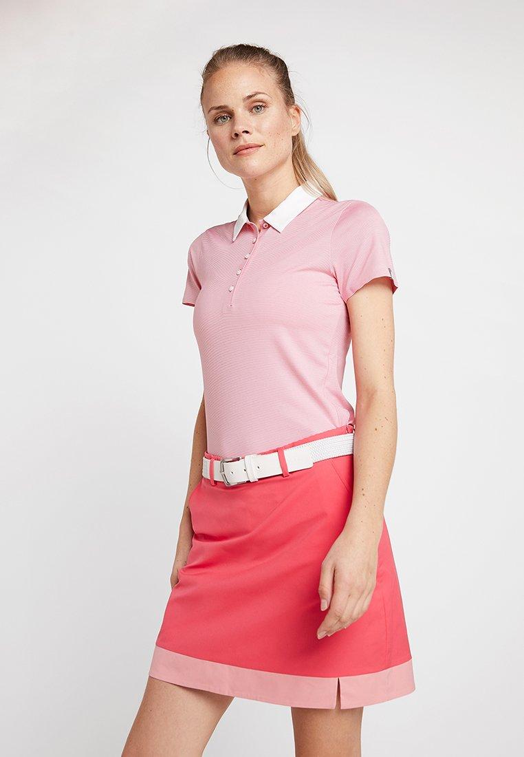 Kjus - WOMEN SINA  - T-shirt de sport - rouge red/white