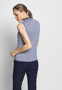 Kjus - WOMEN ELLA STRUCTURE - Polo shirt - atlanta blue/white - 2