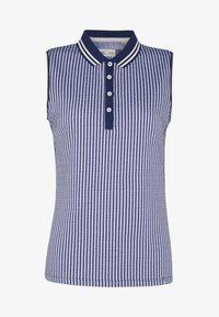 Kjus - WOMEN ELLA STRUCTURE - Polo shirt - atlanta blue/white - 3