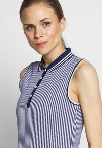 Kjus - WOMEN ELLA STRUCTURE - Polo shirt - atlanta blue/white - 4