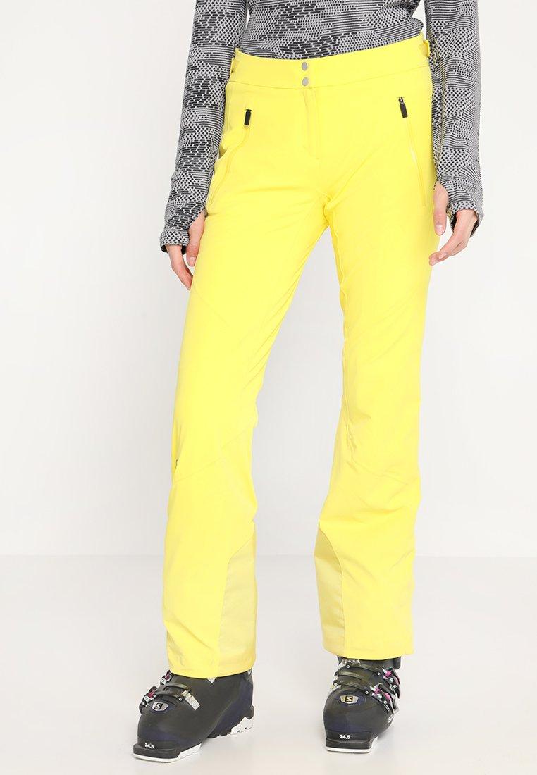 Kjus - WOMEN FORMULA PANTS - Pantalón de nieve - buttercup