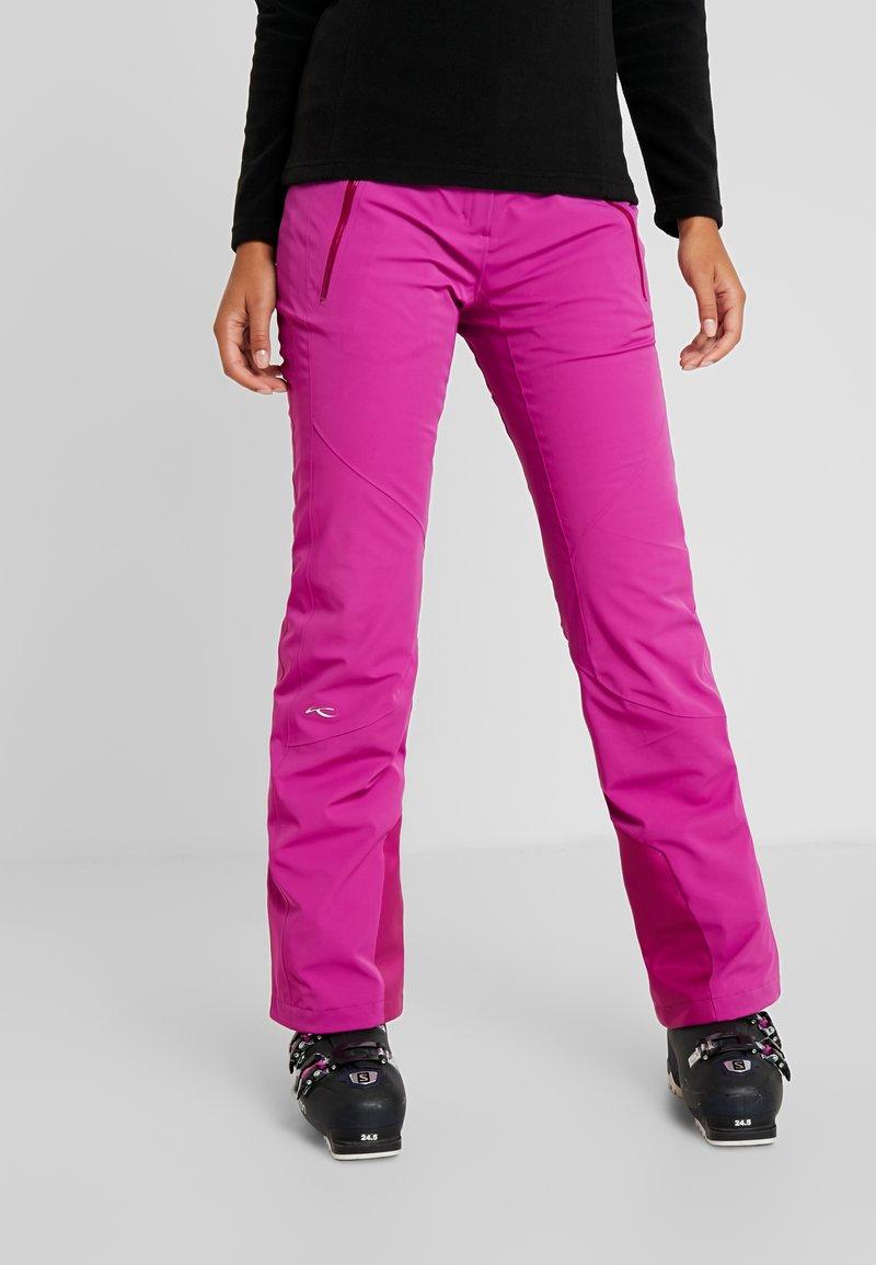 Kjus - WOMEN FORMULA PANTS - Zimní kalhoty - fruity pink