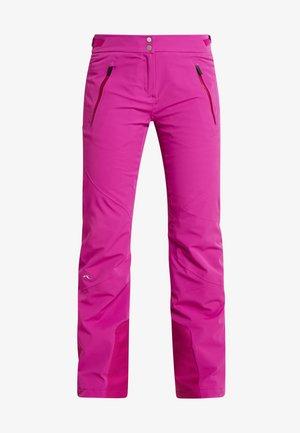 WOMEN FORMULA PANTS - Spodnie narciarskie - fruity pink