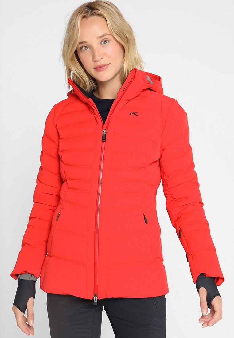 Kjus - WOMEN DUANA JACKET - Chaqueta de esquí - fiery red