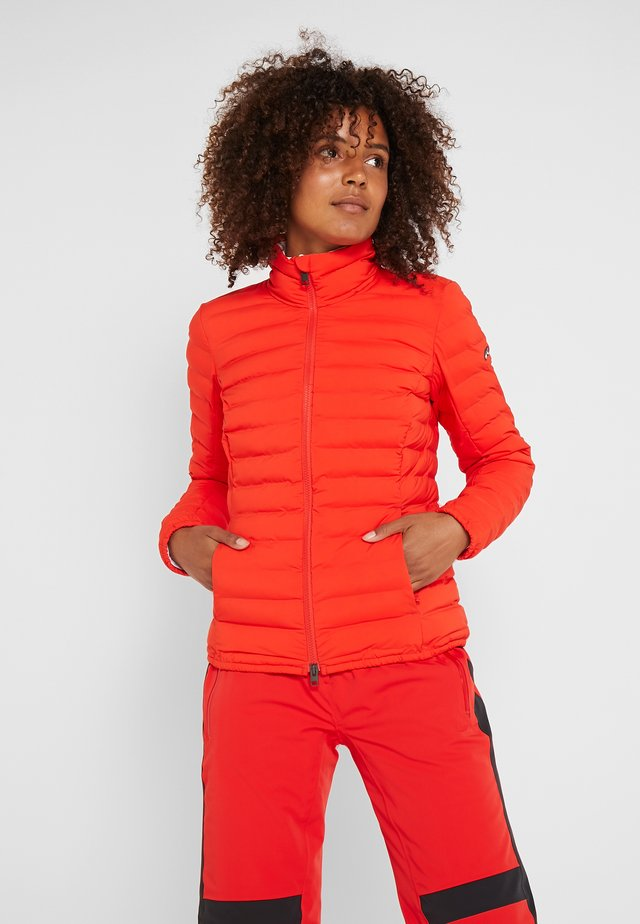 WOMEN VIVANDA JACKET - Lyžařská bunda - fiery red