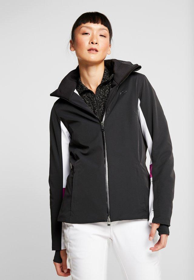 WOMEN LAINA JACKET - Ski jas - black/white