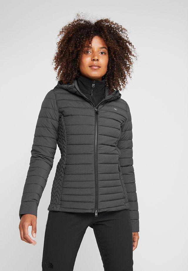 MACUNA HOODED - Ski jacket - black