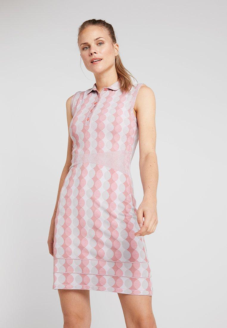 Kjus - WOMEN FREELITE EDA DRESS - Sports dress - rosy blossom