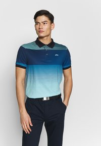 Kjus - MEN SPOT PRINTED - Polo shirt - ice blue - 0