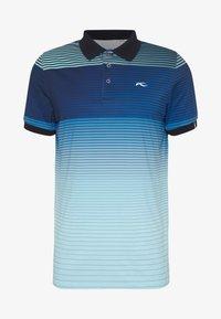 Kjus - MEN SPOT PRINTED - Polo shirt - ice blue - 3