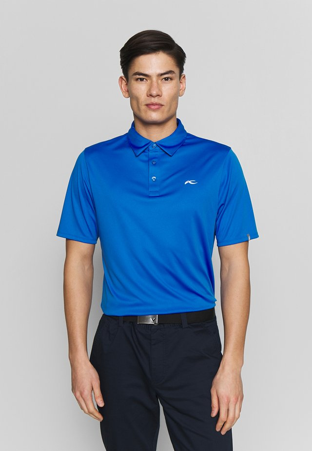 MEN SILAS FRONT LOGO - Polo shirt - blue