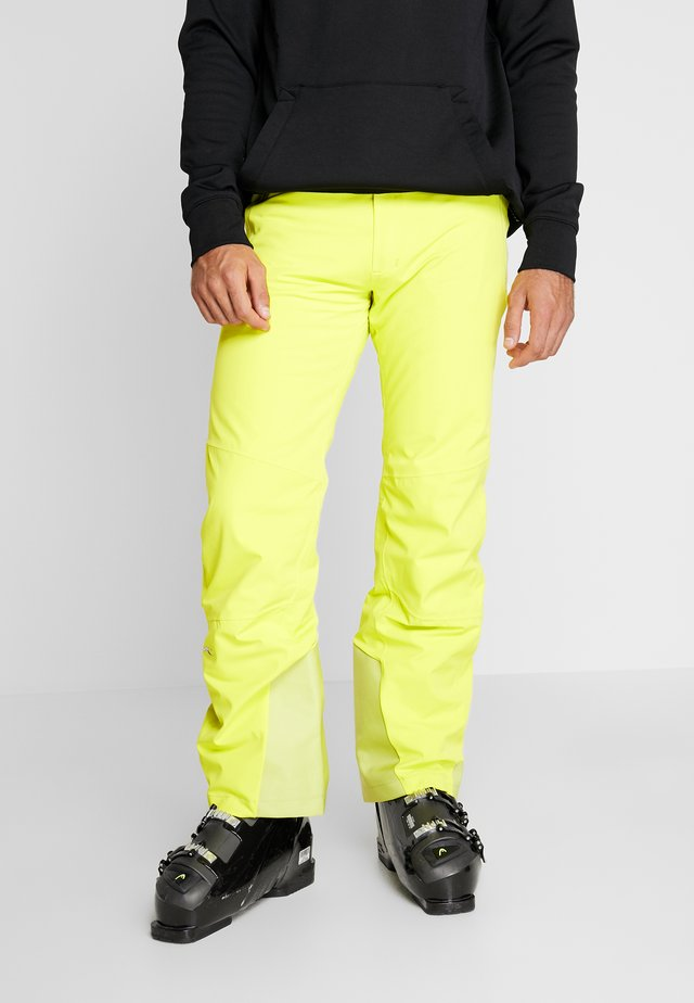 MEN FORMULA PANTS - Snow pants - citric yellow