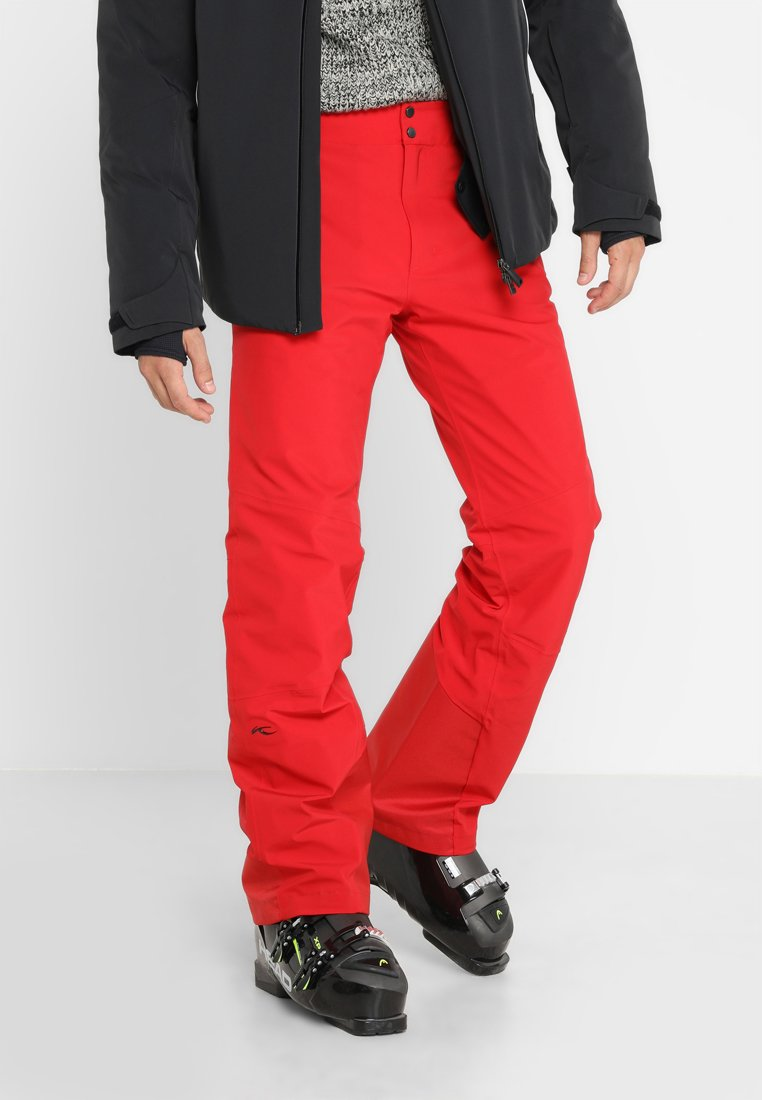 Kjus - MEN FORMULA PANTS - Pantalón de nieve - scarlet
