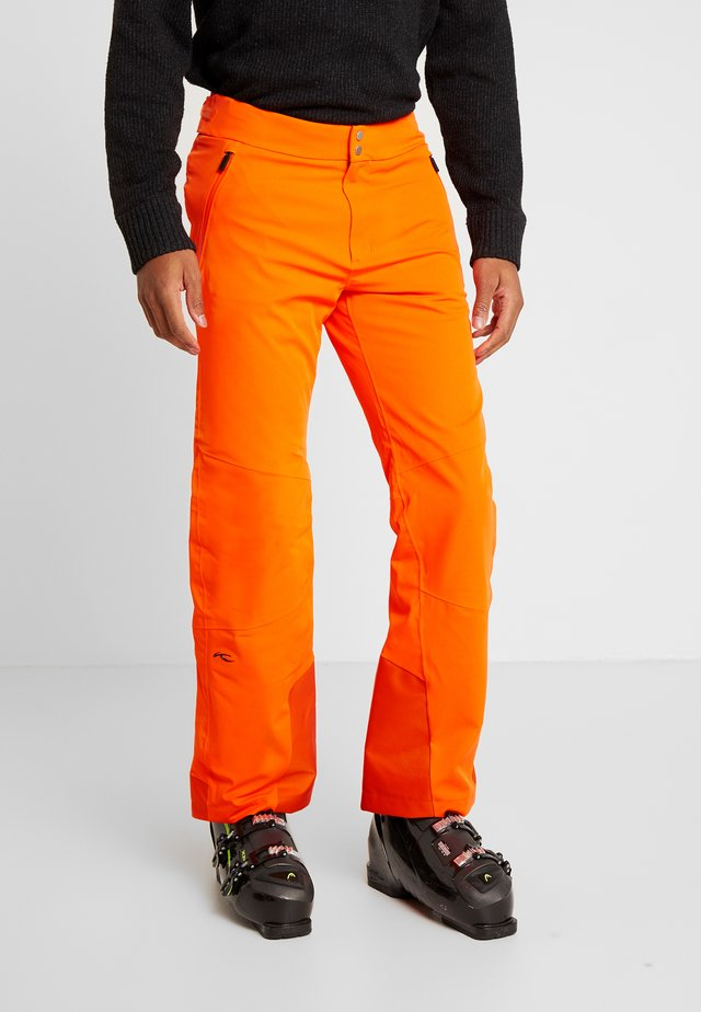 MEN FORMULA PANTS - Snow pants - orange