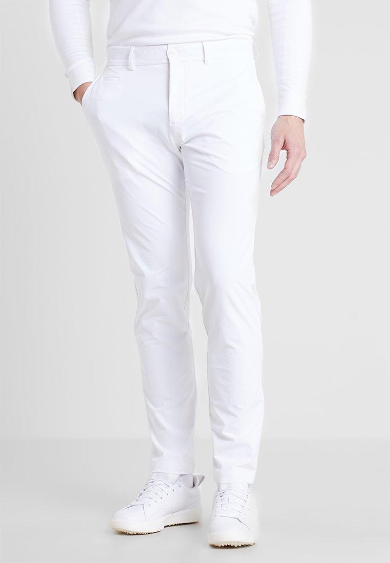Kjus - MEN IKE PANTS  - Trousers - white