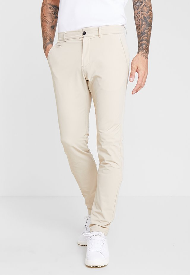 MEN IKE PANT - Tygbyxor - oxford tan
