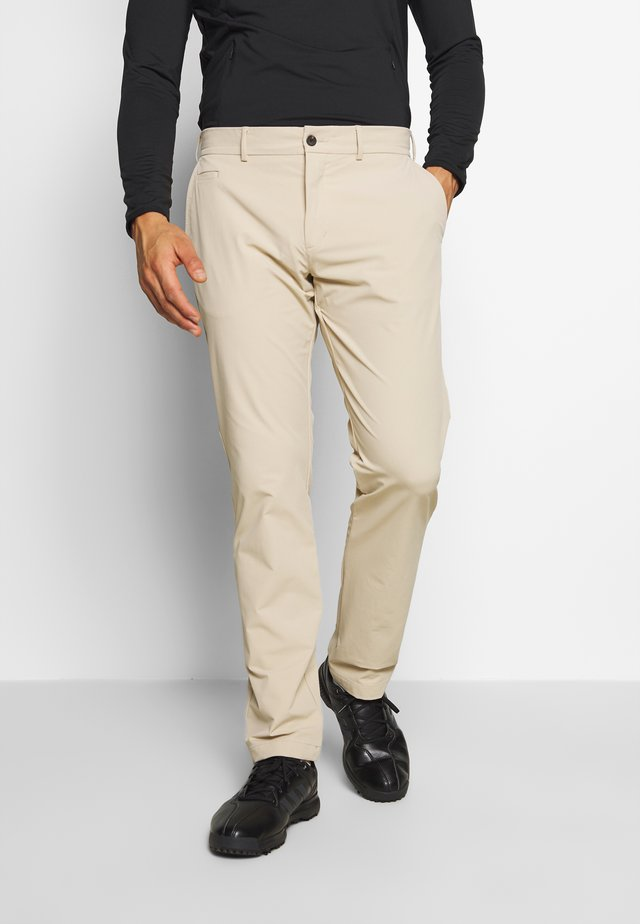 MEN IKE PANTS - Tygbyxor - oxford tan