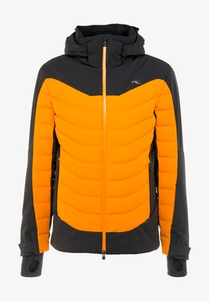 MEN SIGHT LINE JACKET - Doudoune - black/orange