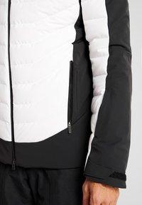 Kjus - MEN SIGHT LINE JACKET - Doudoune - black/white - 4
