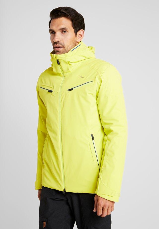 MEN FORMULA JACKET - Lyžařská bunda - citric yellow