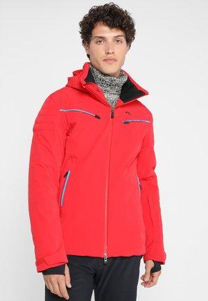 MEN FORMULA JACKET - Skijakke - scarlet