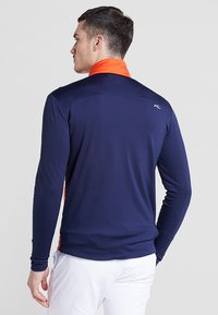 Kjus - MEN RETENTION JACKET - Outdoorová bunda - orange/blue - 2