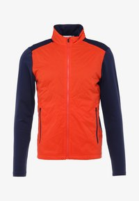 Kjus - MEN RETENTION JACKET - Outdoorová bunda - orange/blue - 5