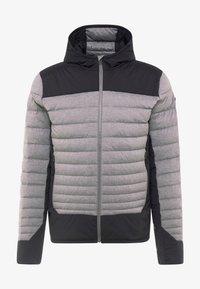 Kjus - BLACKCOMB STRETCH HOODED JKT - Veste de ski - steel greymelange/black - 5