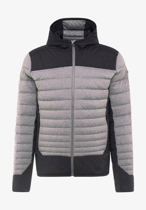 BLACKCOMB STRETCH HOODED JKT - Veste de ski - steel greymelange/black