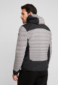 Kjus - BLACKCOMB STRETCH HOODED JKT - Veste de ski - steel greymelange/black - 2