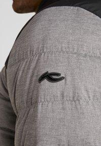 Kjus - BLACKCOMB STRETCH HOODED JKT - Veste de ski - steel greymelange/black - 6