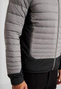 Kjus - BLACKCOMB STRETCH HOODED JKT - Veste de ski - steel greymelange/black - 3