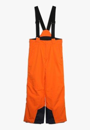 BOYS VECTOR PANTS - Zimní kalhoty - orange
