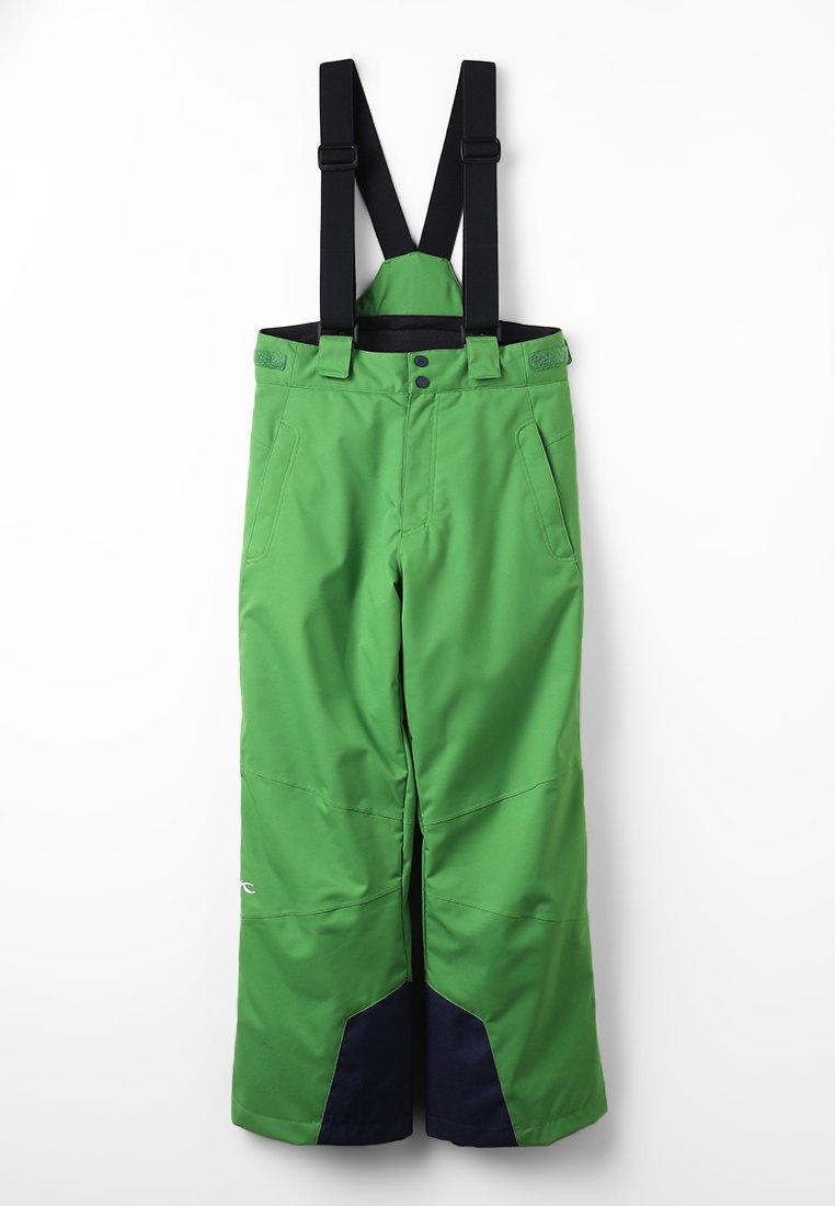 Kjus - BOYS VECTOR PANTS - Snow pants - green leaf