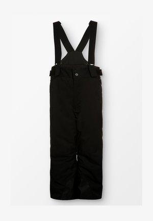 BOYS VECTOR PANTS - Snow pants - black