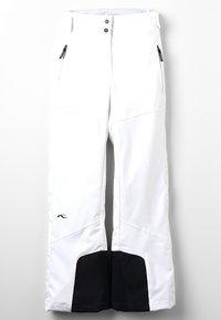 Kjus - GIRLS CARPA PANTS - Snow pants - white - 0
