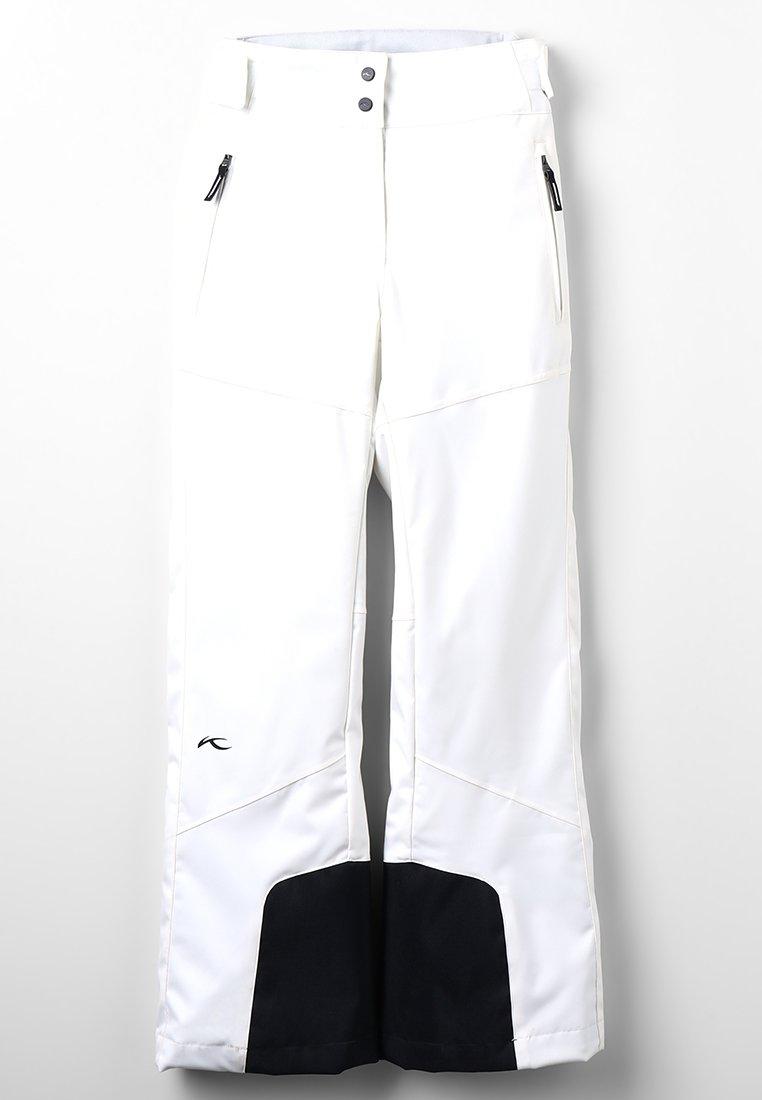 Kjus - GIRLS CARPA PANTS - Snow pants - white