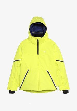 BOYS FORMULA JACKET - Snowboard jacket - citric yellow